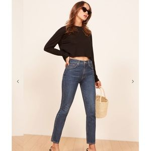 Reformation Julia High Cigarette Jean